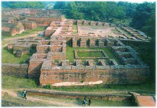 Руины университета в Наланде