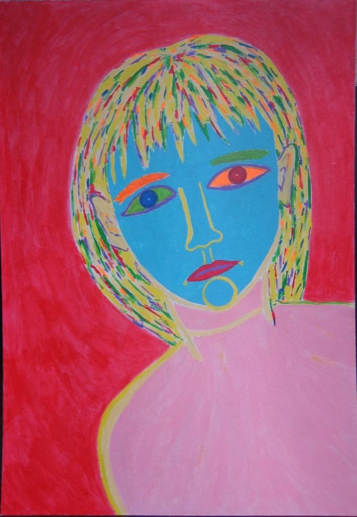 Портрет знакомой девочки