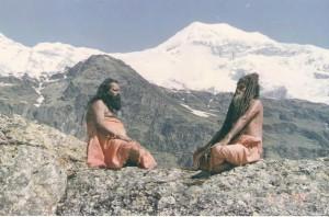 Пайлот Баба в Гималаях