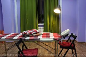 Зал для индивидуальных консультаций, малых групп и массажа
